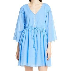 ATM Crinkle Cotton Dress